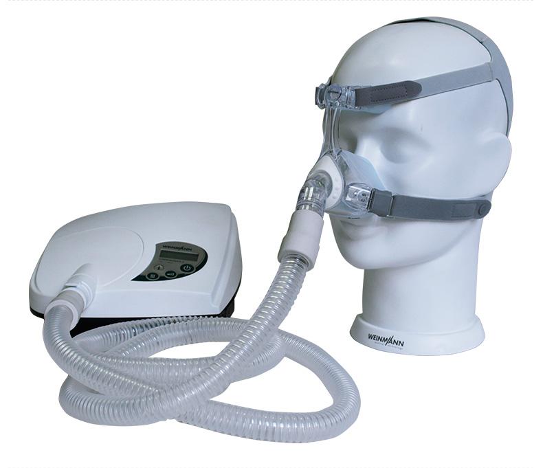 德国万曼呼吸机SOMNObalance e 自动单水平 产品实拍图