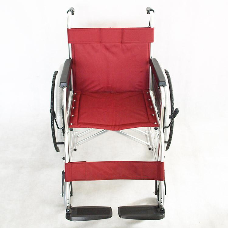 三贵Miki 轮椅车MPT-43L 轻便折叠家用舒适 老人/残疾人轮椅车