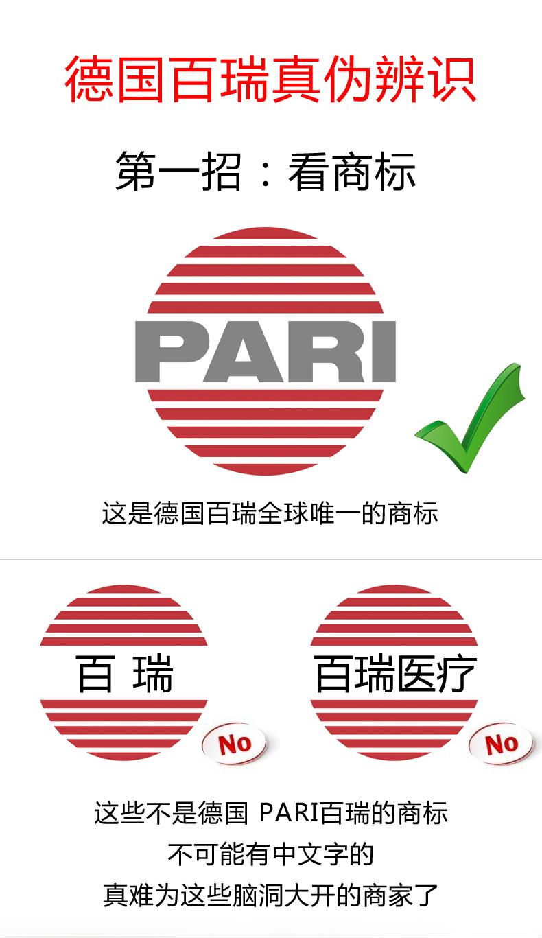 怎样买到正品的德国 PARI百瑞雾化器