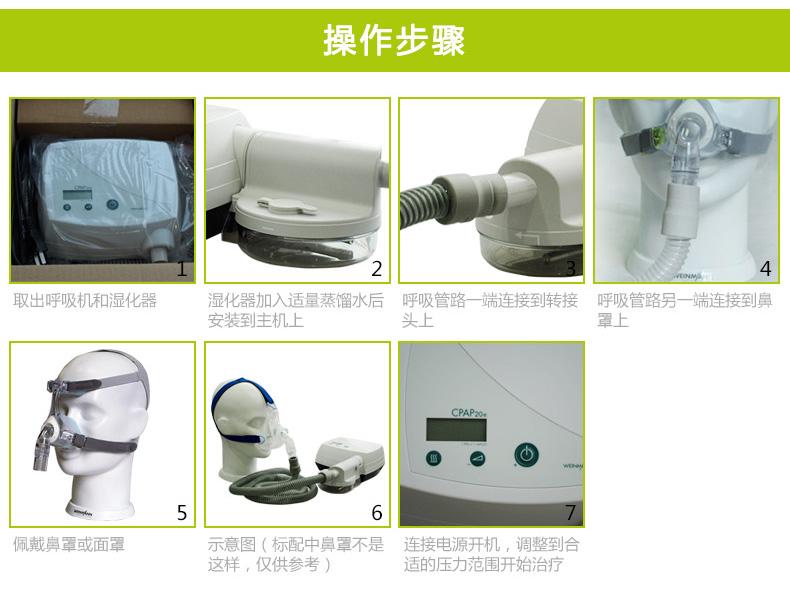 万曼呼吸机CPAP 20E 睡眠呼吸机 打鼾打呼噜止鼾机