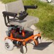 WISKING 上海威之群电动轮椅车wisking-1025型 英国PG控制器 进口电机 重量最轻