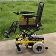 WISKING 上海威之群电动轮椅车wisking-1012型 座位可升降式